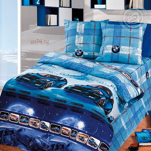 Детское постельное белье Арт-постель Драйв (бязь-люкс)