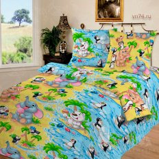 Детское постельное белье Арт-постель Чудо-остров (бязь-люкс)