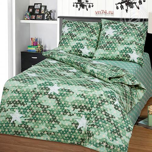 Детское постельное белье Арт-постель Милитари (бязь-люкс)