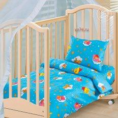 Детское постельное белье Арт-постель Облачко син. (бязь-люкс)