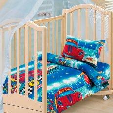 Детское постельное белье Арт-постель Ралли (бязь-люкс)
