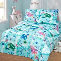 Детское постельное белье Арт-постель Русалки (бязь-люкс)