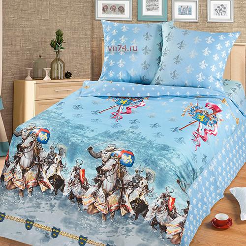 Детское постельное белье Арт-постель Рыцари (бязь-люкс)