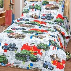 Детское постельное белье Арт-постель Танки (бязь-люкс)