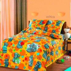 Детское постельное белье Арт-постель Топтыжка жел. (бязь-люкс)