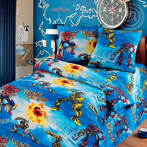 Детское постельное белье Арт-постель Трансформеры (бязь-люкс)