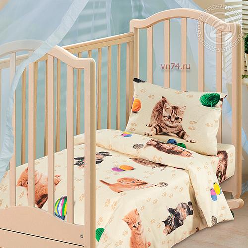 Детское постельное белье Арт-постель Усатый-полосатый (бязь-люкс)