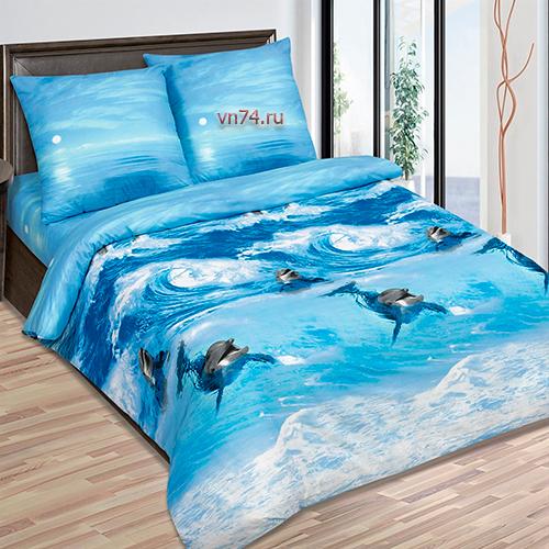 Детское постельное белье Арт-постель Дельфинчик (сатин)