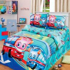 Детское постельное белье Арт-постель Счастливые каникулы (сатин)