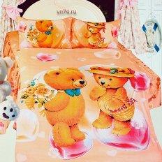 Детское постельное белье Арт-постель Валентинка (сатин)