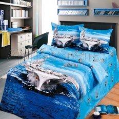 Детское постельное белье Арт-постель Авианосец (сатин)