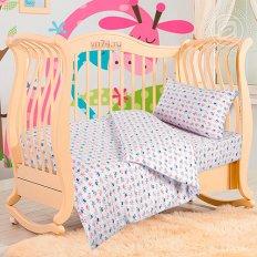 Детское постельное белье с резинкой на простыне Арт-постель Киски (трикотаж)