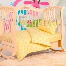 Детское постельное белье с резинкой на простыне Арт-постель Попрыгунчик (трикотаж)