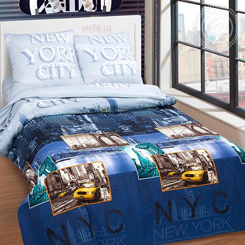 Постельное белье Арт-постель Нью-Йорк (поплин)