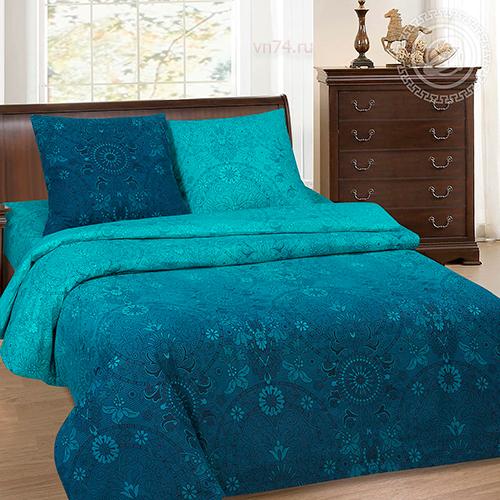 Постельное белье с простыней на резинке Арт-постель Притяжение (поплин)