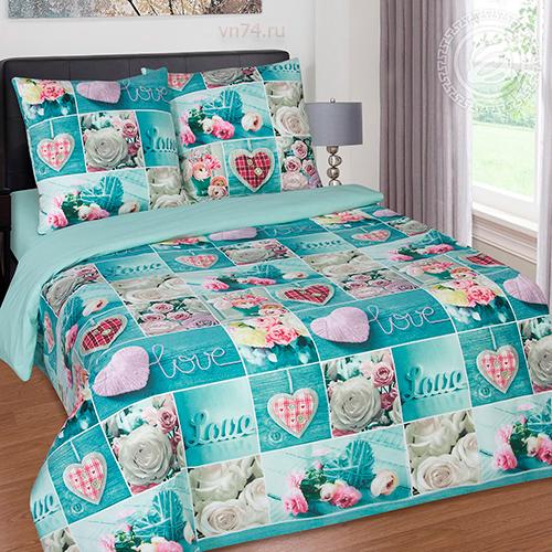 Постельное белье Арт-постель Признание (поплин)