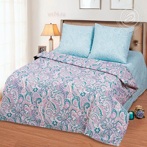Постельное белье Арт-постель Примула голубая (бязь-люкс)