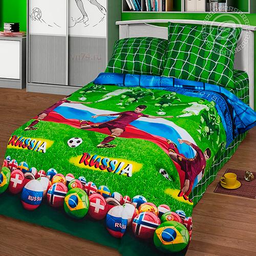 Детское постельное белье Арт-постель Матч (бязь-люкс)