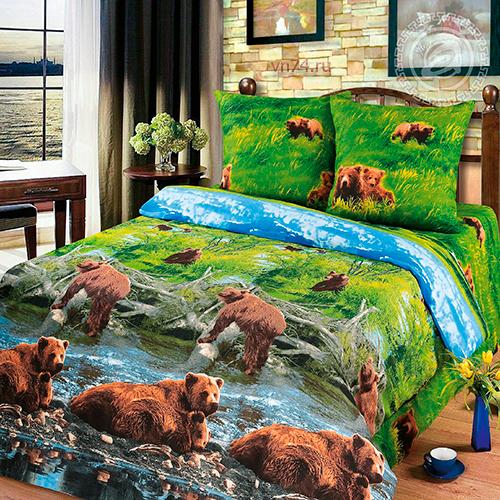 Постельное белье Арт-постель Хозяин тайги (бязь-люкс)