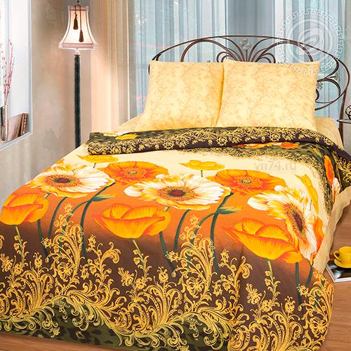 Постельное белье Арт-постель Янтарные маки (бязь-люкс)
