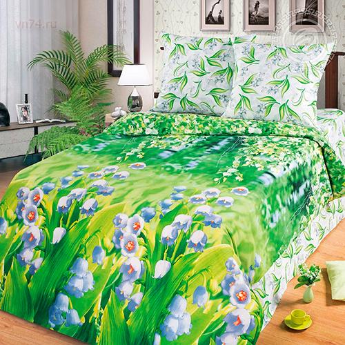 Постельное белье Арт-постель Ландыши (бязь-люкс)