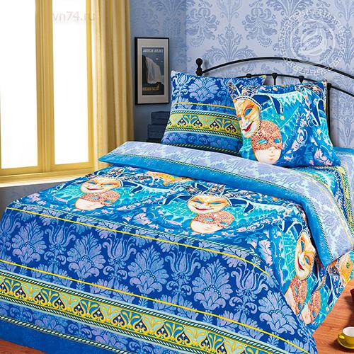 Постельное белье Арт-постель Венецианские маски (бязь-люкс)