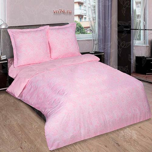 Постельное белье Арт-постель Грация роза (поплин)