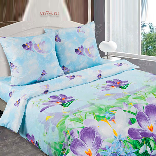 Постельное белье Арт-постель Крокус (поплин)