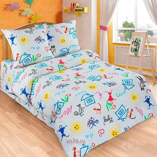 Детское постельное белье Арт-постель Переменка (поплин)