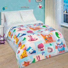 Детское постельное белье Арт-постель Плюшевый мир (поплин)