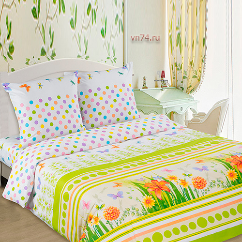 Постельное белье Арт-постель Полянка (поплин)