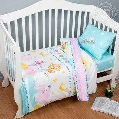 Детское постельное белье Арт-постель Акварельки (поплин)