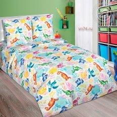 Детское постельное белье Арт-постель Динозаврики (поплин)
