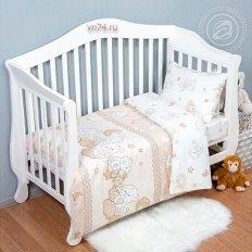 Детское постельное белье Арт-постель Медвежата (поплин)