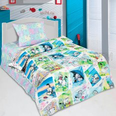 Детское постельное белье Арт-постель Мурзики (поплин)