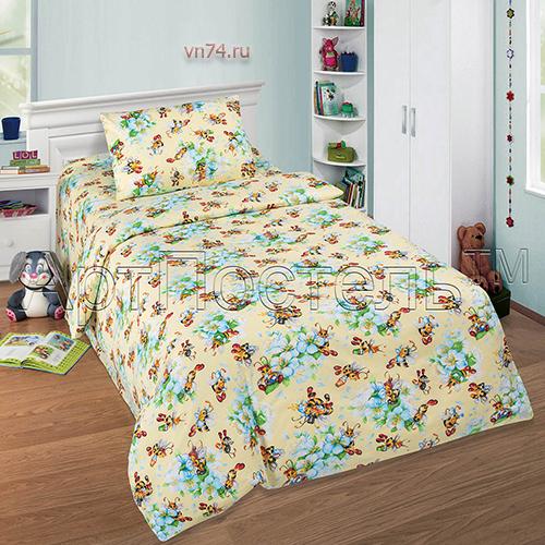 Детское постельное белье Арт-постель Пчелка (поплин)