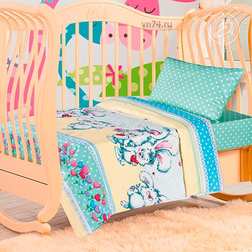 Детское постельное белье Арт-постель Пушистик (поплин)