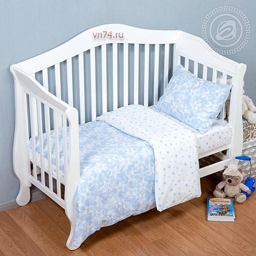 Детское постельное белье Арт-постель Звездочет гол. (поплин)