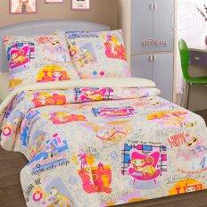 Детское постельное белье Арт-постель Уик-энд беж. (поплин)
