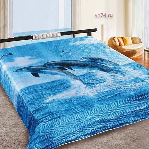 Покрывало Marianna Шёлк 3D Дельфин