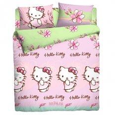 Простыня Hello Kitty Hello kitty floral (поплин)