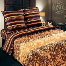 Постельное белье с простыней на резинке Арт-постель Арабика (поплин)