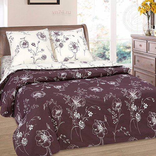 Постельное белье с простыней на резинке Арт-постель Каролина (поплин)