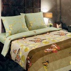Постельное белье с простыней на резинке Арт-постель Вальс (поплин)