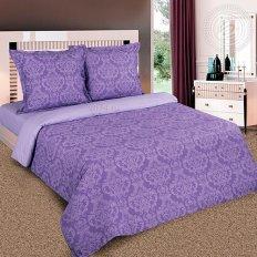 Постельное белье Арт-постель Зима-Лето Византия фиолетовый (поплин)