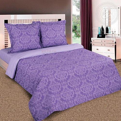 Постельное белье Арт-постель г/к Византия фиолетовый (поплин)