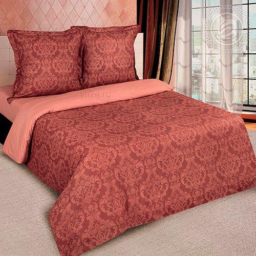 Постельное белье Арт-постель г/к Византия коричневая (поплин)