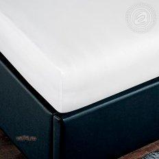 Простыня трикотажная на резинке Арт Дизайн подснежник (хлопок)