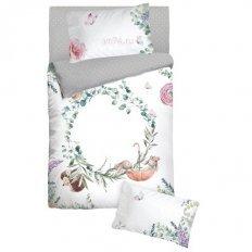 Детское постельное белье с резинкой на простыне Облачко Fairytale (бязь-люкс)
