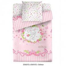 Детское постельное белье Маленькая Соня Зайка (поплин)